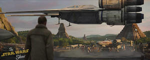 See a New 'Rogue One: A Star Wars Story' Spaceship