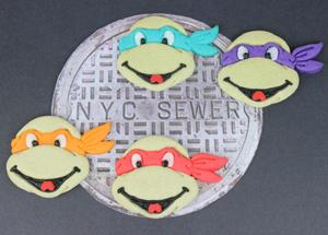 Celebrate Heroes in a Half Shell with Tasty Turtle Cookies