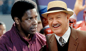 Interactive: Who's The Greatest Movie Football Coach Ever?