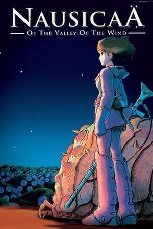 """Poster art for """"Nausicaä of the Valley of the Wind."""""""