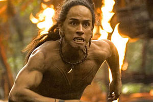"Rudy Youngblood as Jaguar Paw in ""Apocalypto."""