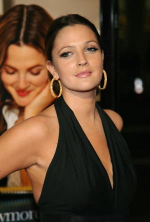 """Drew Barrymore at the Los Angeles premiere of """"Music and Lyrics"""""""