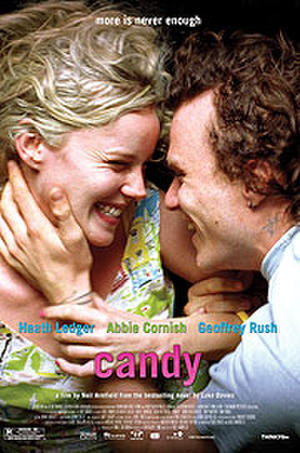 """Poster art for """"Candy."""""""