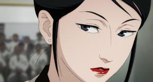 "Atsuko Chiba (voiced by Megumi Hayashibara) in ""Paprika."""