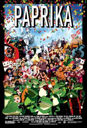 "Poster art for ""Paprika."""