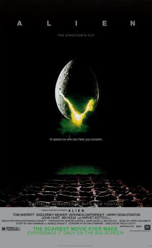 "Poster art for ""Alien: The Director's Cut."""