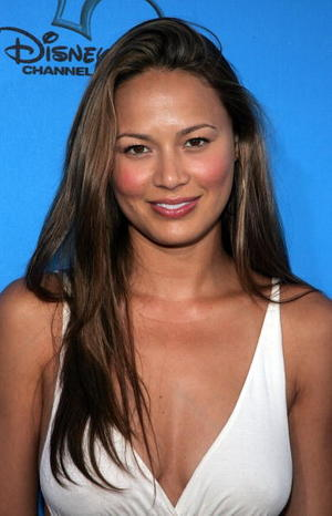 """""""Pathfinder"""" star Moon Bloodgood at the Disney - ABC Television Group All Star Party in California."""