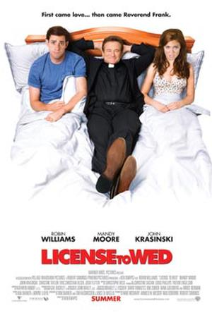 "Poster art for ""License to Wed."""