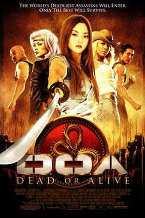 "Poster art for ""DOA: Dead or Alive."""
