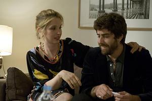"Julie Delpy and Adam Goldberg in ""2 Days in Paris."""
