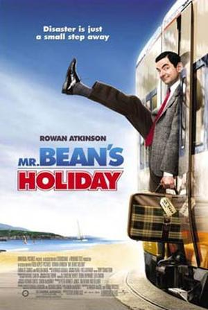 "Poster art for ""Mr. Bean's Holiday."""