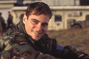 "Joaquin Pheonix in ""Buffalo Soldiers."""