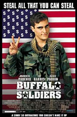 """Poster art for """"Buffalo Soldiers."""""""
