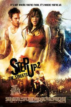 """Poster art for """"Step Up 2 the Streets."""""""