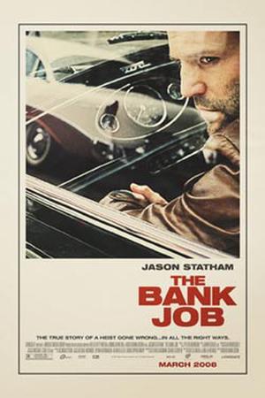 "Poster art for ""Bank Job."""