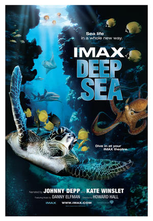 "Poster art for ""Deep Sea."""