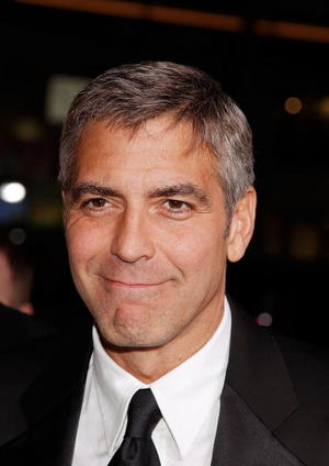 """Director/actor George Clooney at the Hollywood premiere of """"Leatherheads."""""""