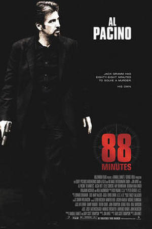 """Poster art for """"88 Minutes."""""""