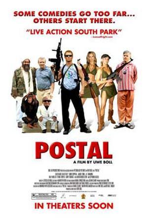 """Poster art for """"Postal."""""""