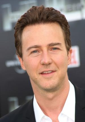 "Edward Norton at the California premiere of ""The Incredible Hulk."""