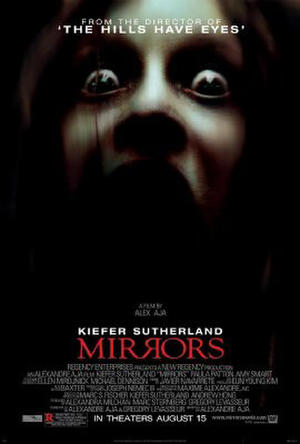 "Poster art for ""Mirrors."""
