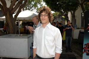 """Andy Samberg at the after party of the California premiere of """"Space Chimps."""""""