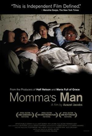 """Poster art for """"Momma's Man."""""""