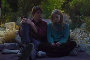 "Jesse McCartney and Elisabeth Harnois in ""Keith."""