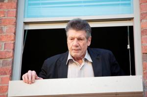 "Fred Ward as Sergeant Archie Sparks in ""Exit Speed."""