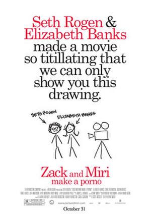 """Poster art for """"Zack and Miri Make a Porno."""""""