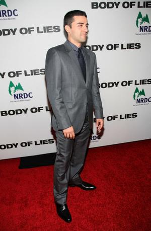 "Oscar Isaac at the New York premiere of ""Body of Lies."""
