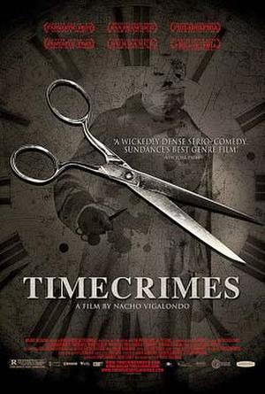 "Poster art for ""Timecrimes."""