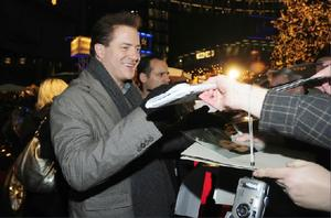 "Brendan Fraser at the world premiere of ""Inkheart."""