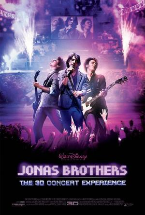 """Poster Art for """"Jonas Brothers 3-D Concert Movie."""""""