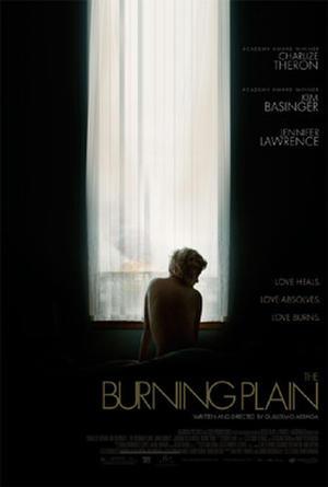 """Poster art for """"The Burning Plain."""""""