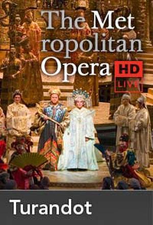 "Poster art for ""The Metropolitan Opera: Turandot Encore."""