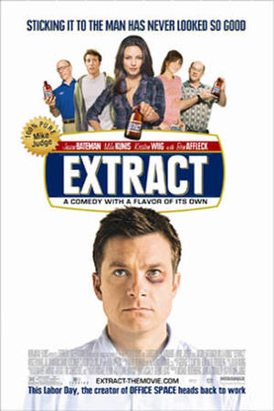 "Poster art for ""Extract."""