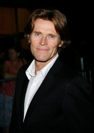 """Willem Dafoe at the Canada premiere of """"Antichrist."""""""