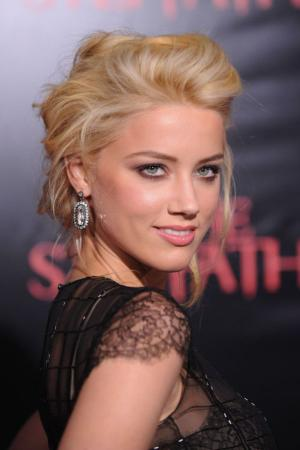 "Amber Heard at the New York premiere of ""The Stepfather."""