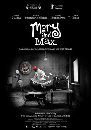 """Poster art for """"Mary and Max."""""""