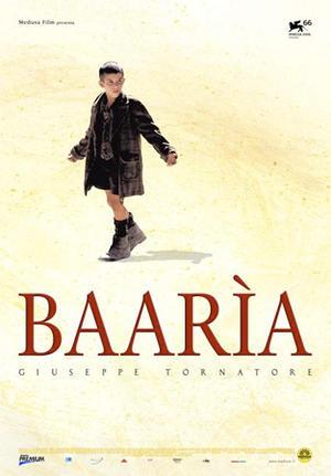 "Poster art for ""Baaria."""