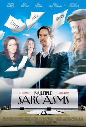 "Poster art for ""Multiple Sarcasms."""
