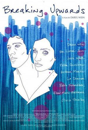 """Poster art for """"Breaking Upwards."""""""