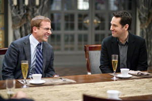 "Steve Carell and Paul Rudd in ""Dinner for Schmucks."""