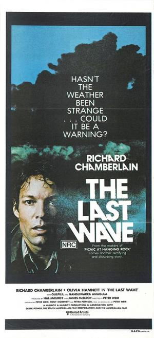 "Poster art for ""The Last Wave."""
