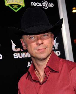 Kenny Chesney at the Nevada premiere of ''Kenny Chesney: Summer in 3-D.''