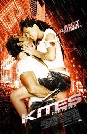 "Poster art for ""Kites: The Remix."""