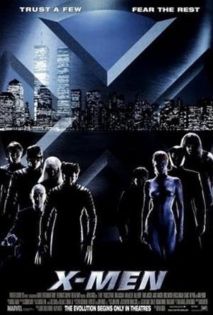 """Poster art for """"X-Men."""""""