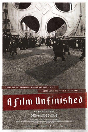 """Poster art for """"A Film Unfinished"""""""