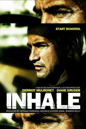 "Poster art for ""Inhale"""